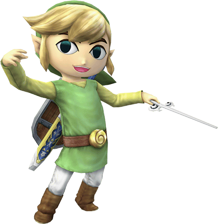 Wolf Link And Toon Link